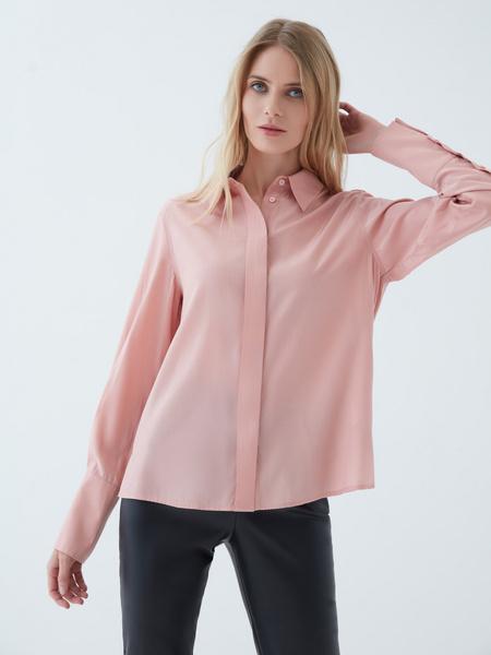 Блузка с объемными рукавами - фото 5