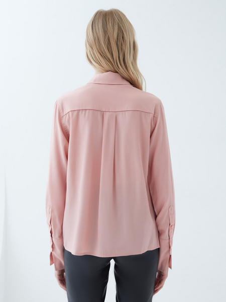 Блузка с объемными рукавами - фото 6