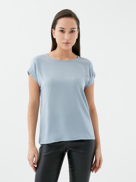 Блузка с коротким рукавом - фото 4