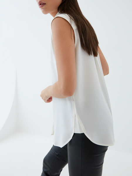 Блузка без рукавов - фото 5