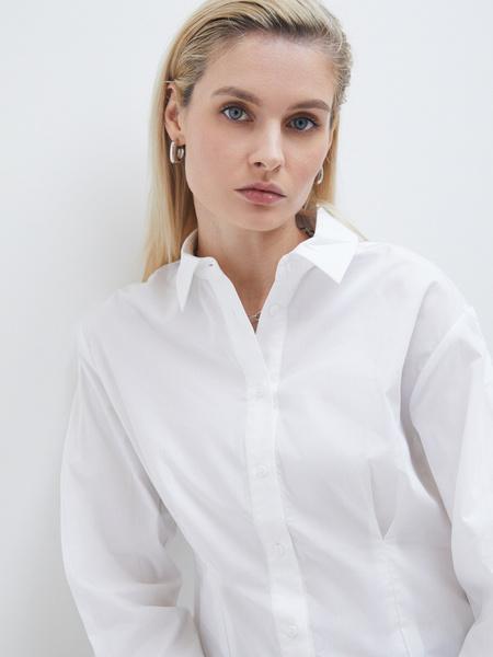 Блузка с рукавами-буфами - фото 3