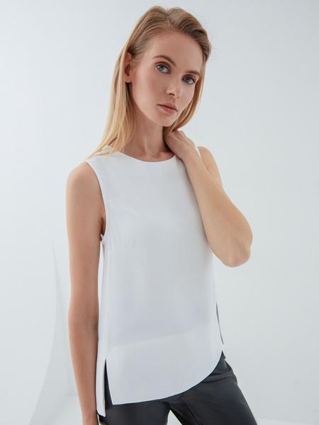 Блузка без рукавов - фото 1