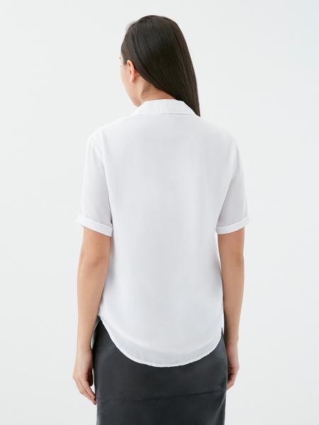 Блузка с отворотами - фото 5