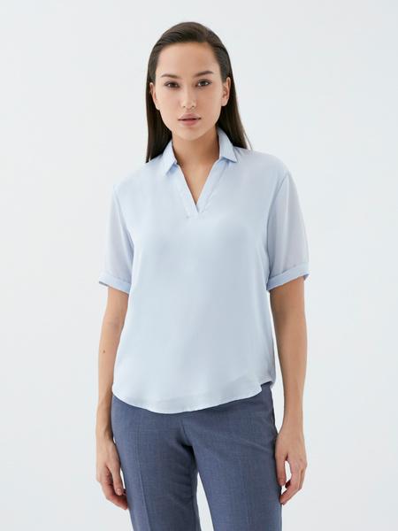 Блузка с отворотами