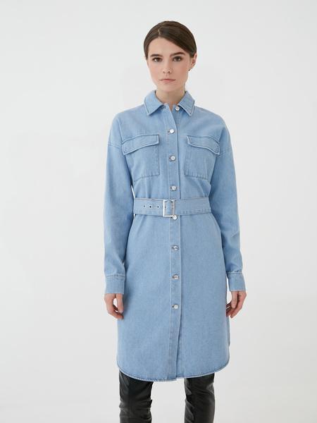 Джинсовое платье - фото 3