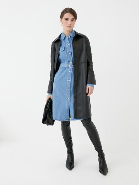 Джинсовое платье - фото 2
