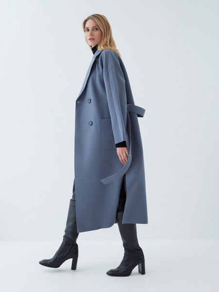Двубортное пальто - фото 5
