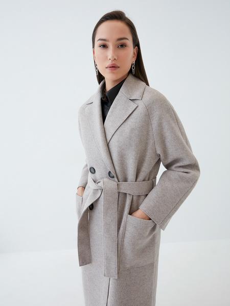Двубортное пальто - фото 4