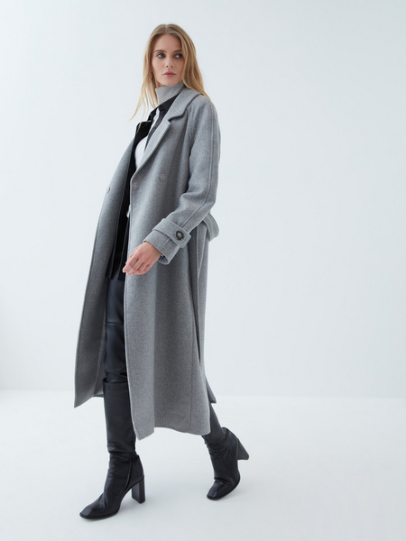 Пальто с шерстью - фото 4