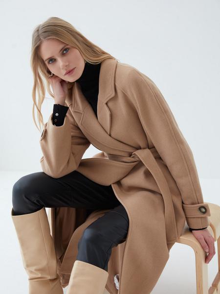 Пальто с шерстью - фото 7