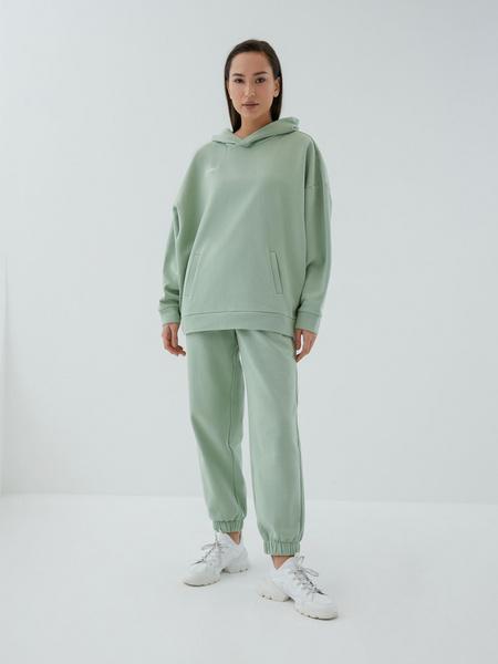 Трикотажные брюки с эластичными манжетами - фото 4