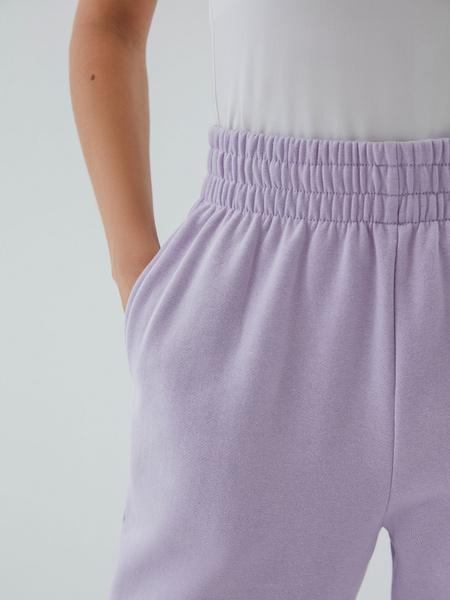 Трикотажные брюки с эластичными манжетами - фото 3