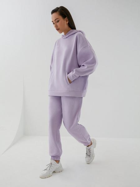 Трикотажные брюки с эластичными манжетами - фото 5