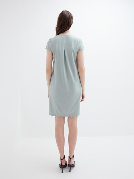 Прямое платье - фото 7