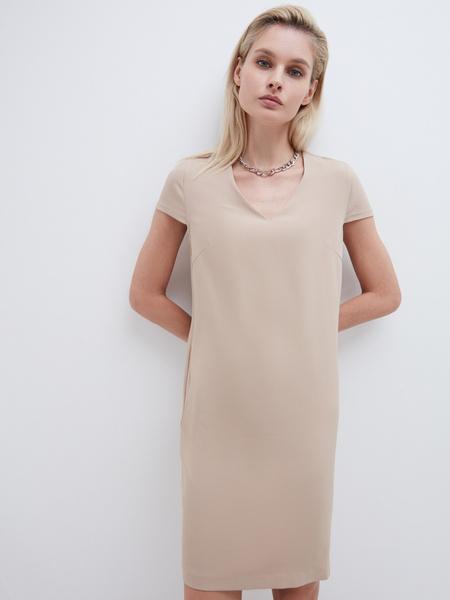 Прямое платье - фото 1