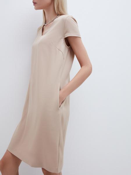 Прямое платье - фото 6