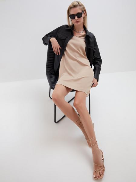 Прямое платье - фото 8