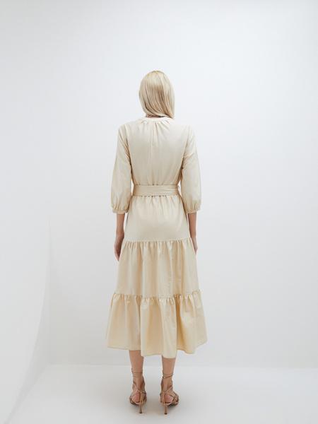 Платье с воланами - фото 7