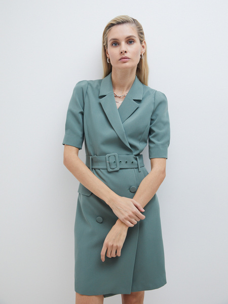 Платье-жакет - фото 5