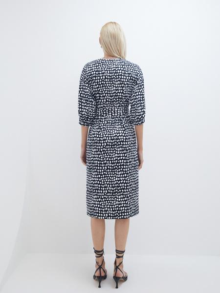 Платье- с поясом - фото 8