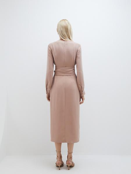 Платье-миди - фото 8