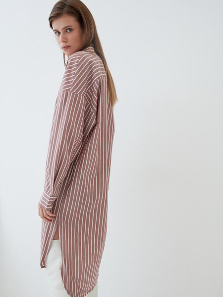 Платье-рубашка - фото 8