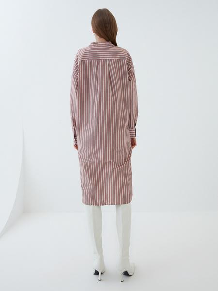 Платье-рубашка - фото 9