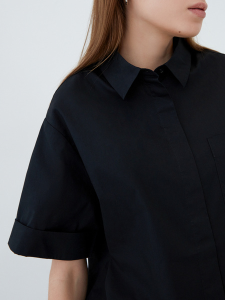 Блузка из хлопка - фото 4