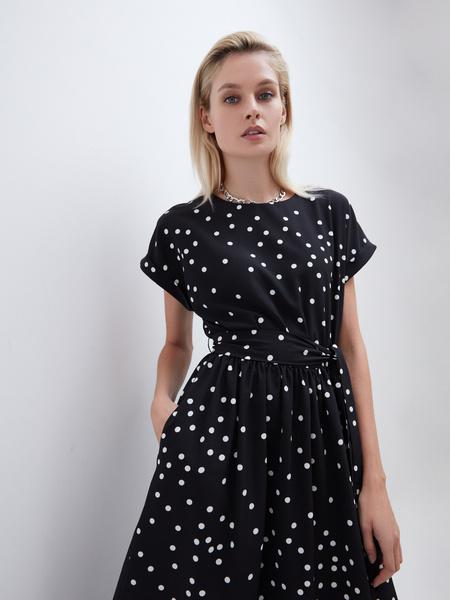 Платье А-силуэта - фото 4