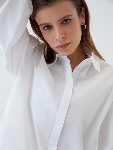 Блузка с объемным рукавом - фото 6
