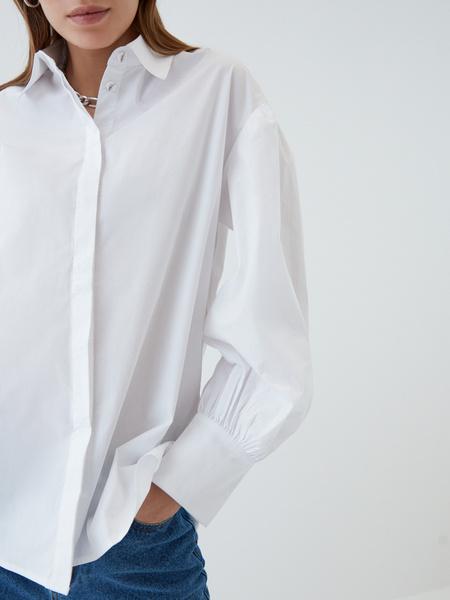 Блузка с объемным рукавом - фото 7