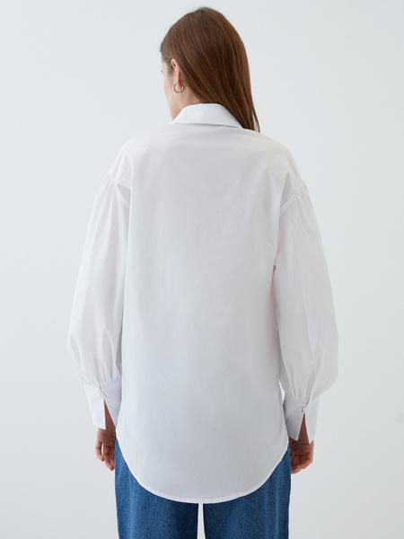 Блузка с объемным рукавом - фото 8