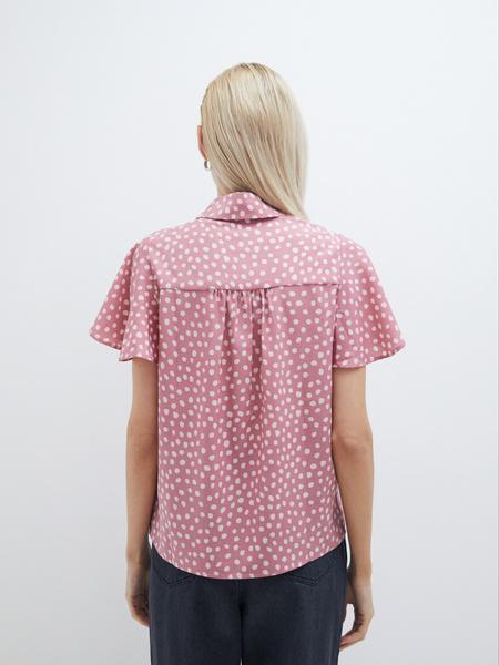 Блузка с рукавами-крылышками - фото 6