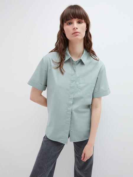Блузка с карманом - фото 2