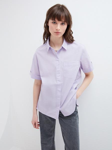Блузка с карманом