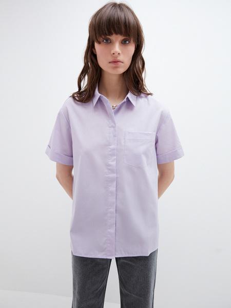 Блузка с карманом - фото 9