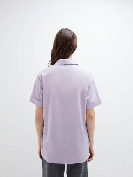 Блузка с карманом - фото 10