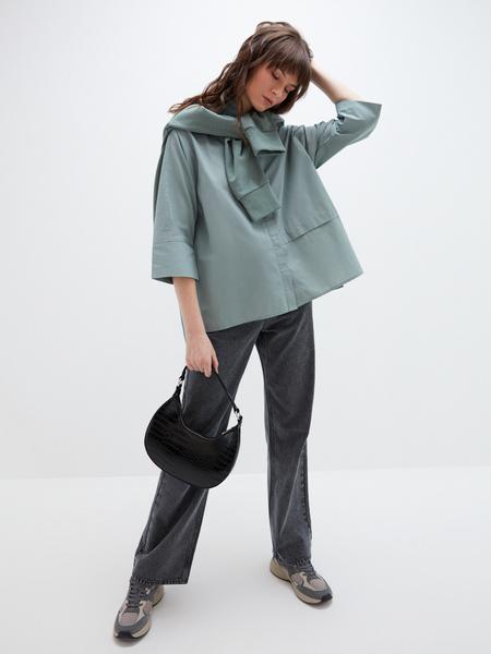 Блузка с рукавами 3/4 - фото 1