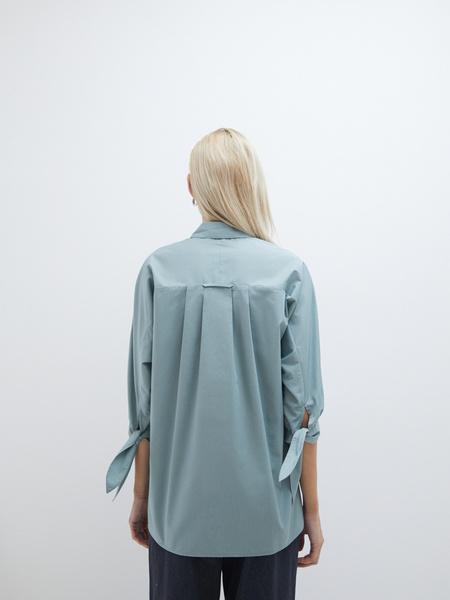 Блузка с завязками - фото 6