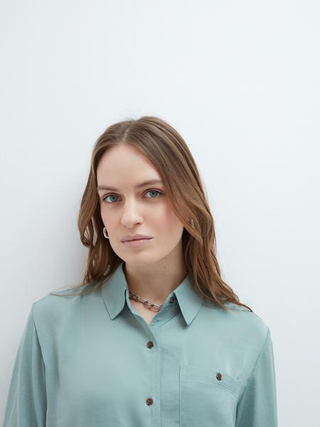 Блузка с рукавами 3/4 - фото 4