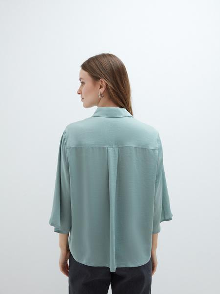 Блузка с рукавами 3/4 - фото 6
