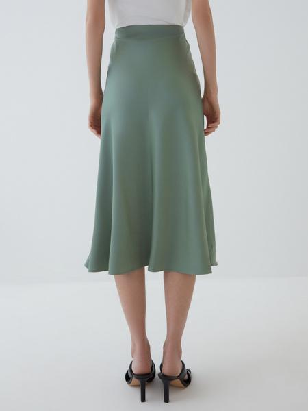Атласная юбка - фото 6