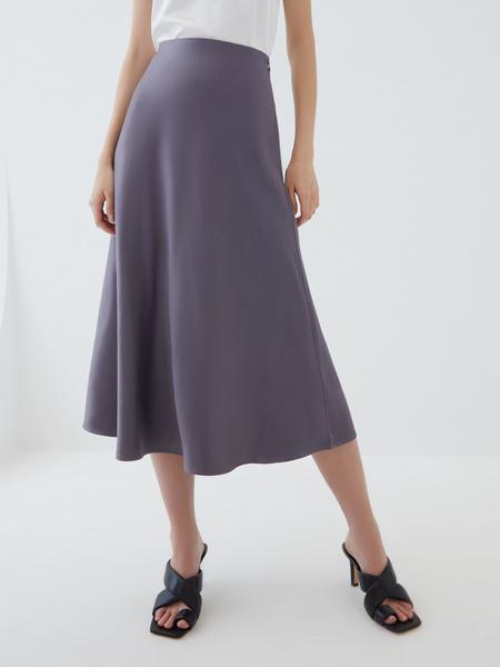Атласная юбка - фото 1
