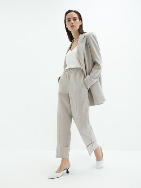 Укороченные брюки - фото 5