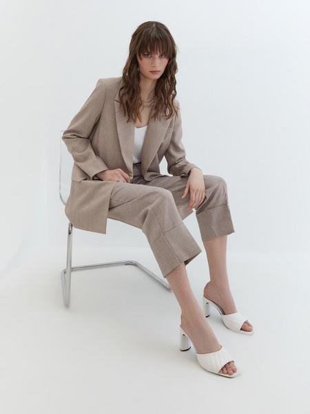 Укороченные брюки - фото 7