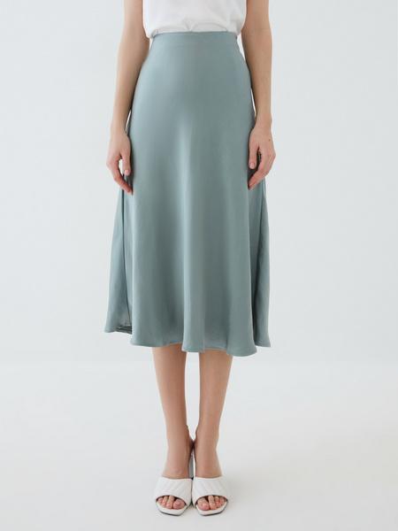 Атласная юбка - фото 2