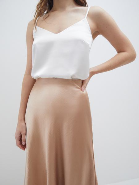 Атласная юбка - фото 3