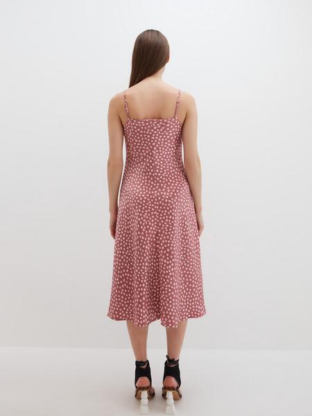 Атласное платье - фото 12