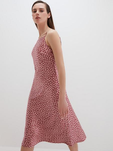 Атласное платье - фото 9