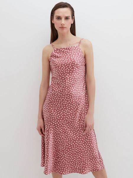 Атласное платье - фото 10